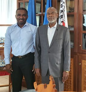Le Président du Conseil départemental soutient le projet de Thomas M'Saidié