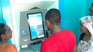 Une nouvelle borne de paiement EDM à Combani