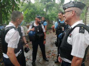 Le général de corps d'armée Bruno JOCKERS en visite à Mayotte