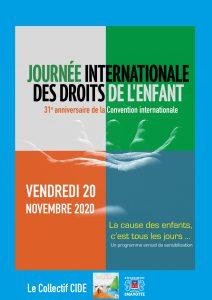 31ème journée internationale des droits des enfants