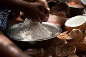 Une belle production locale de cocos