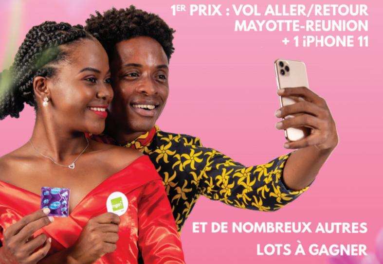 Un selfie avec un préservatif pour lutter contre les IST