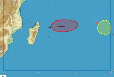 Des tempêtes en formation dans l'Océan Indien ?