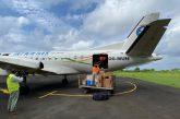 La compagnie comorienne Int'Air Îles livre du matériel médical à Moheli