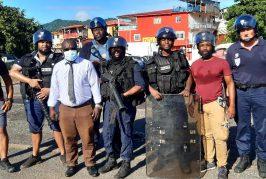 Le premier adjoint au maire de Mamoudzou soutient la police sur le terrain