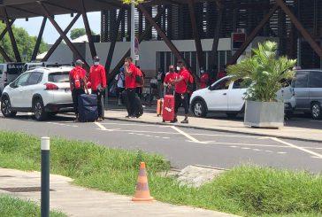 Les joueurs du FC Mtsapéré sont revenus à Mayotte