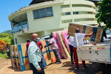 Elan de solidarité et de dons pour les sinistrés d'Acoua