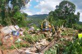 448 cases en tôle détruites depuis janvier