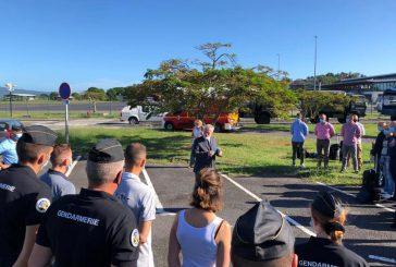 Le préfet accueille les gendarmes qui seront basés trois mois à Mayotte
