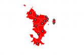 La carte interactive des élections départementales de Mayotte