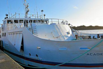 L'Acadie se dirige vers les Comores où il se consacrera au fret