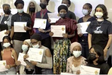 Les lauréats lycéens du concours national Géosciences étaient récompensés hier