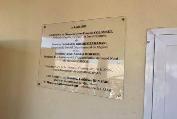 La CAPAM inaugure son antenne nord à Hamjago