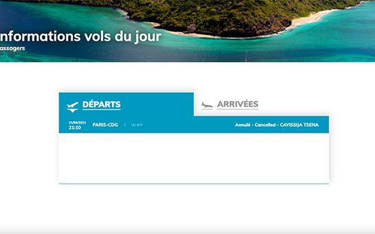 Un vol annulé pour Paris qui fait grincer des dents