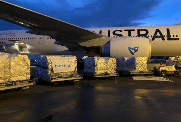 Air Austral opère un vol cargo à Kigali pour le transport de fret humanitaire