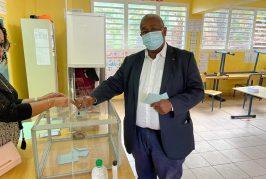 Mansour Kamardine a voté
