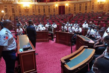 Le sénateur Thani reçoit les 27 cadets citoyens de Mayotte au Sénat