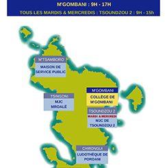 Carte des centres de vaccinations la semaine prochaine