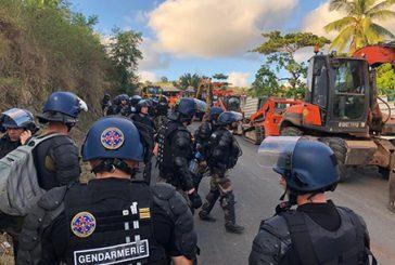 La gendarmerie communique sur l'opération de démolitions de Koungou