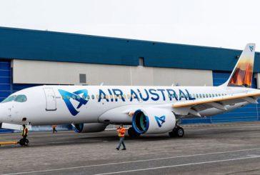 Le premier Airbus Air Austral à Pamandzi demain