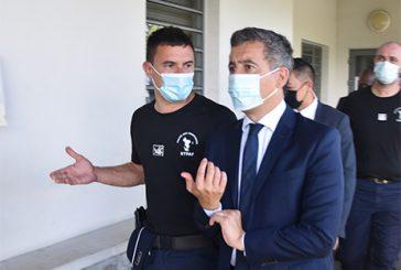 Gérald Darmanin au chevet des personnels LIC
