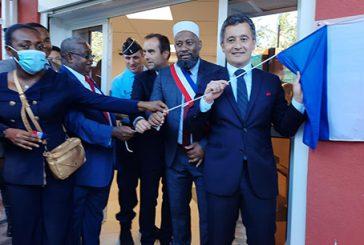 Inauguration de la brigade de gendarmerie de Dembéni