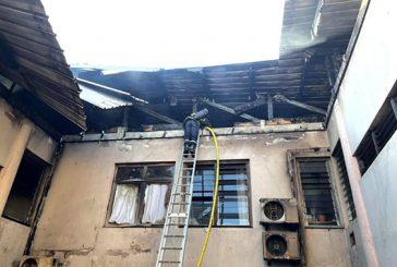 Les dégâts de la mairie de Koungou en image