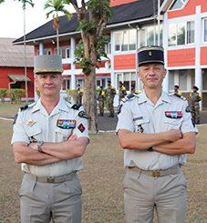 Les patron des services militaires adaptés en visite à Mayotte