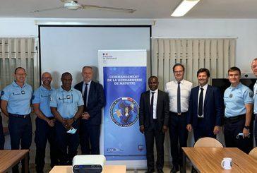 La mission sénatoriale à la gendarmerie