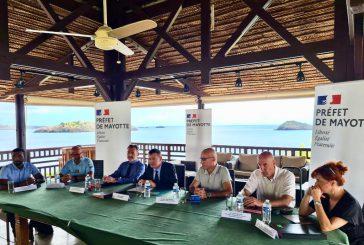 Signature de protocoles de mise en œuvre du bracelet anti rapprochement et du téléphone grave danger à Mayotte