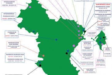 Carte des centres de dépistage